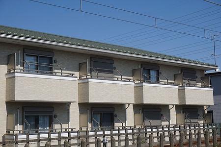 大阪市内のアパート