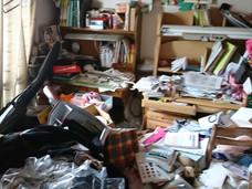 作業前 居室