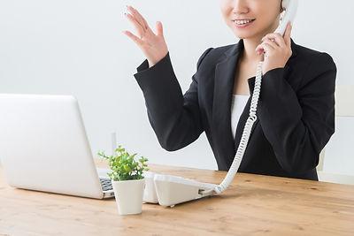 会社案内-電話応対