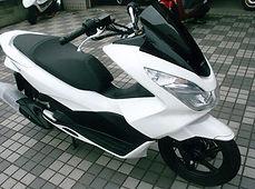 PCX125ホワイト