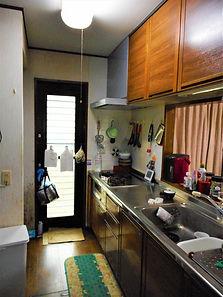 戸建て住宅リフォーム_キッチンbefore