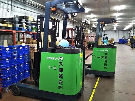 千葉県 チルド食品運送 配送業務