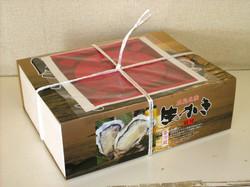 生かき殻付き18個入り箱