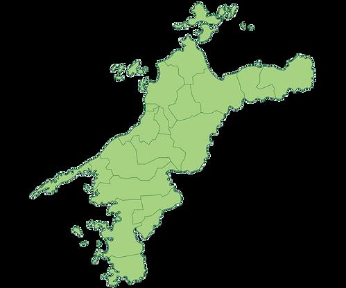 愛媛県全域地図