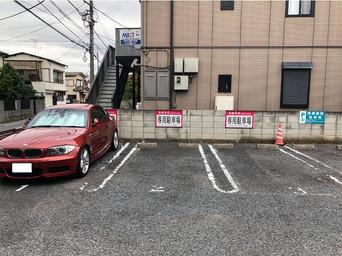 駐車場3台