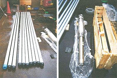 新品の揚水管・水中ポンプ