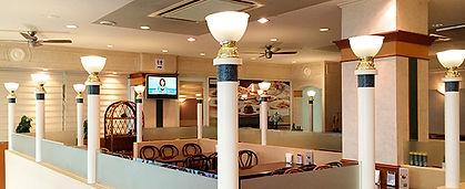 レストラン駿河店内