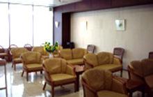 田中産婦人科クリニックの待合室