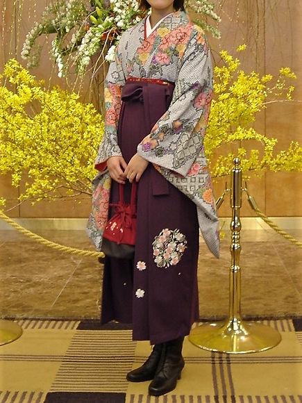 おたる花嫁センターで扱う成人式袴画像