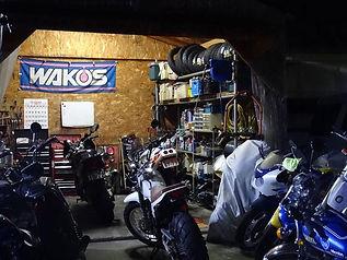 バイクの車検・点検整備