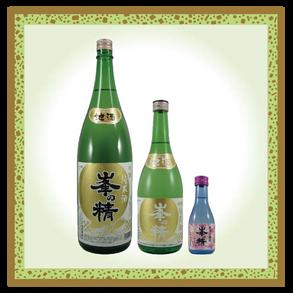 峯の精 吟醸純米酒