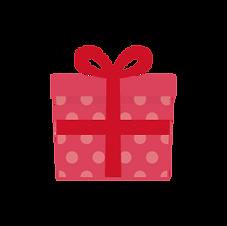 プレゼントを運ぶ
