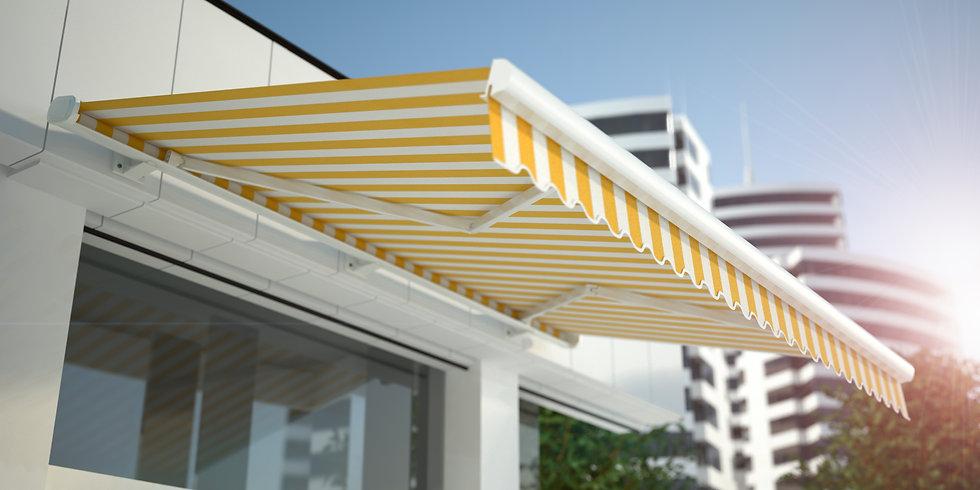 黄色いテント
