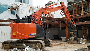 解体工事の流れの解体工事着工