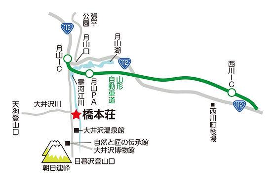 橋本荘近隣地図
