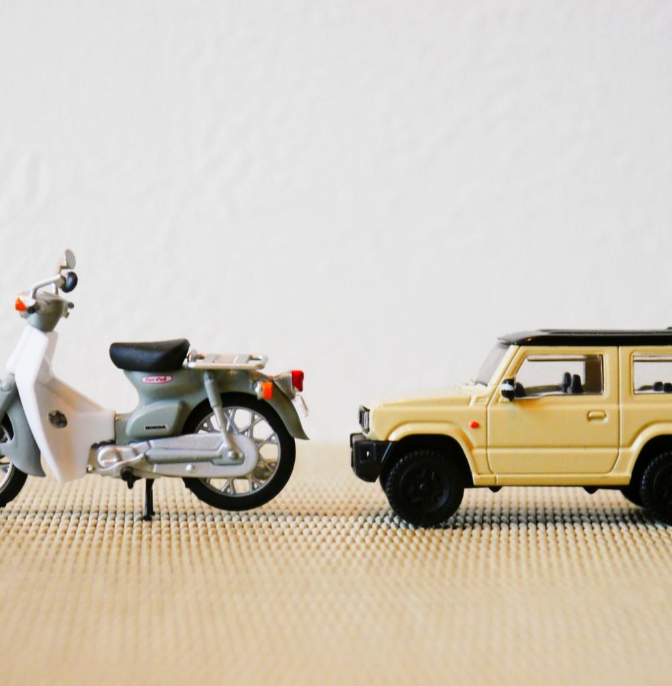 廃車・バイクの回収