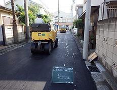 北寺尾舗装補修工事 (2)