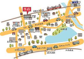 間島畳装飾地図