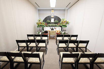 広島市民葬儀の小式場(20名様まで)