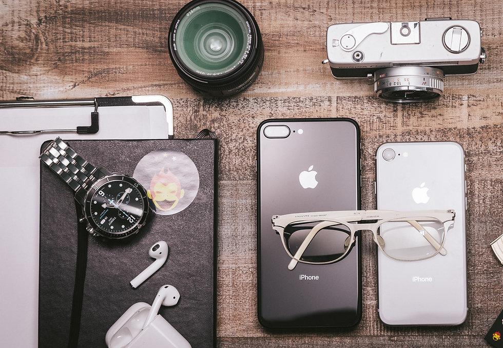 モバイル端末と筆記具