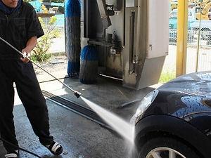 自動車洗浄