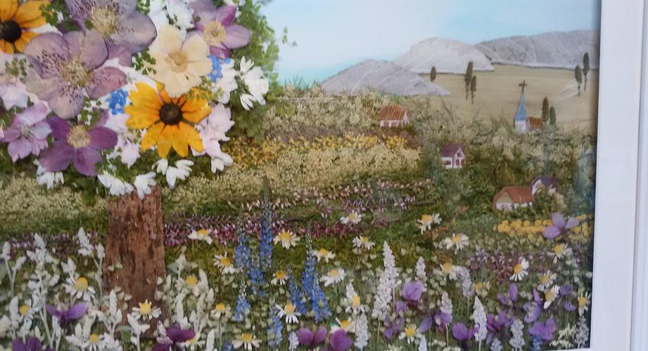 川村医院 押し花