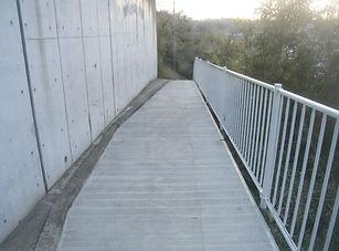 斜面歩道設置工事