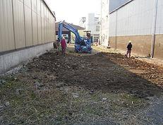 新羽私有地駐車場工事 (1)