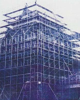 松江城修復