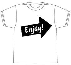 完成品のTシャツ