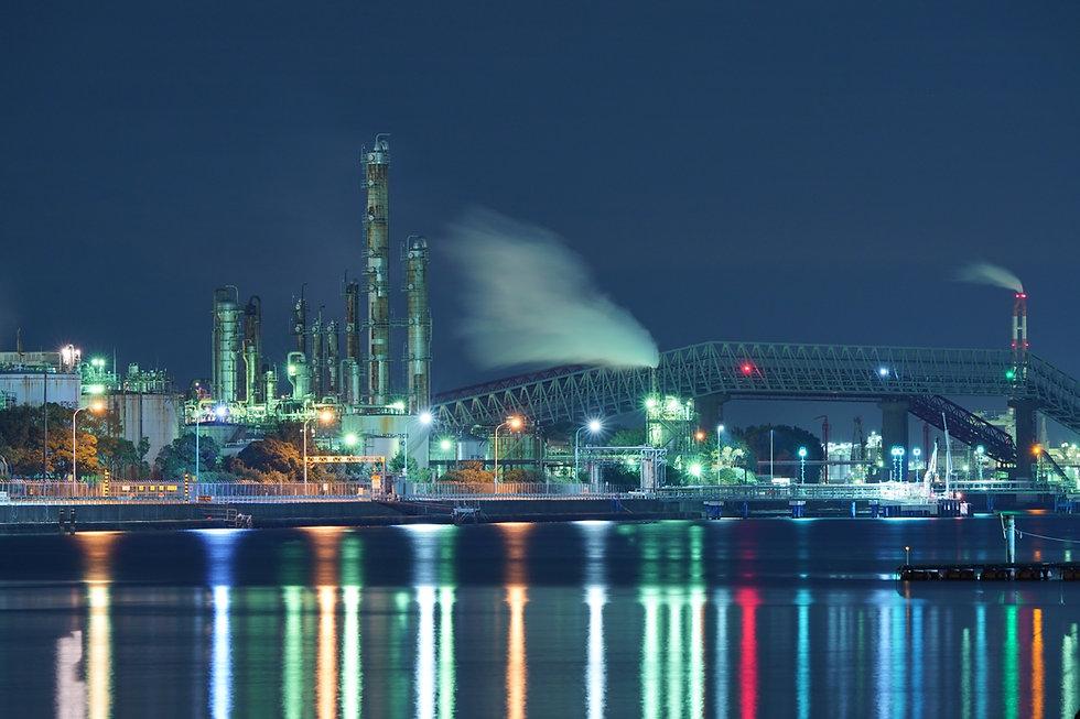 みやもと設計株式会社 工場の夜景