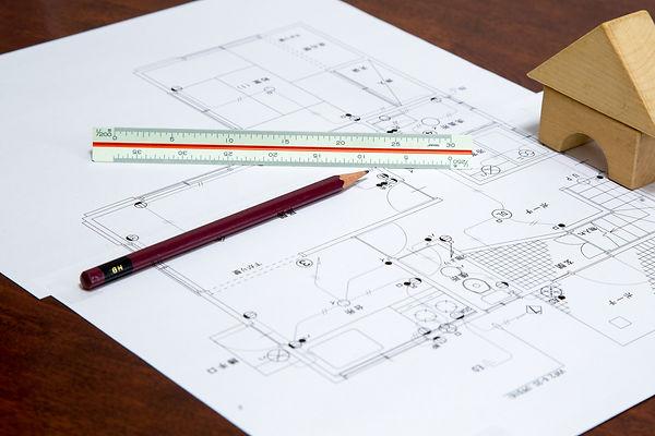 家屋の平面設計図