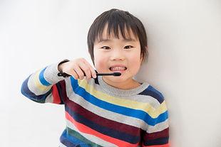 歯磨きの子供