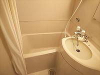 ホテル浴室塗装前