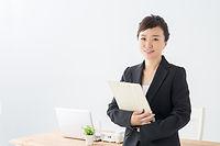 社員の女性