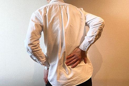 基本的な保険施術の温熱療法-腰痛