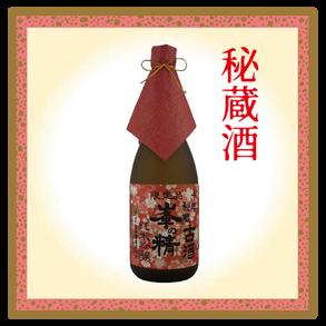 峯の精 十年秘蔵 古酒 純米吟醸酒