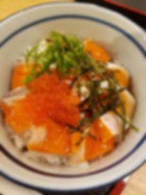 境港サーモン丼