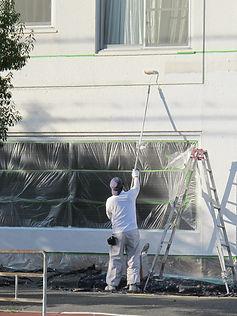 塗装工事(外壁工事)1