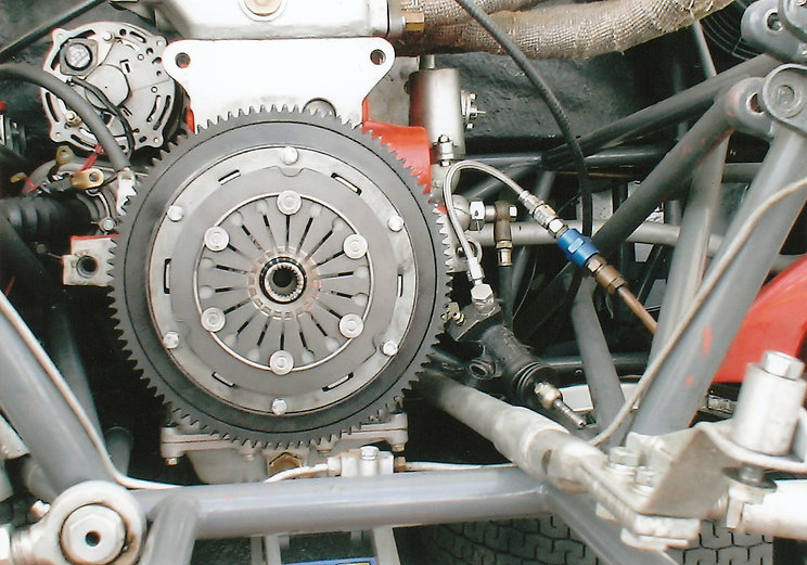 エンジン・クラッチ・ミッションオーバーホール