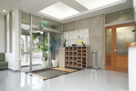患者さま用スリッパなどの院内環境整備