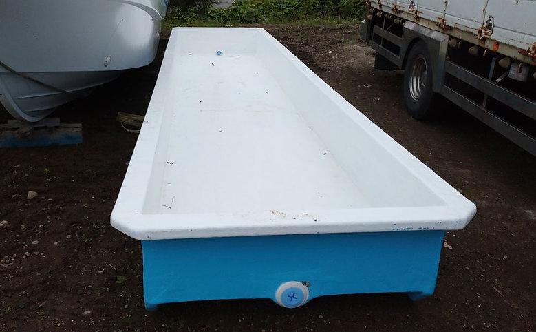 FRP昆布洗いタンク