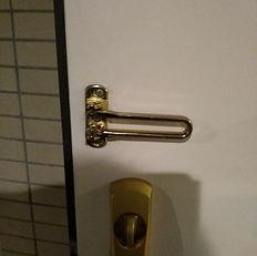 ドアバーを付け替えました