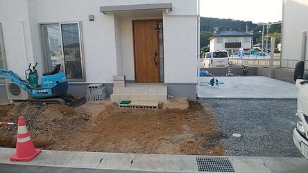 住宅の外構工事