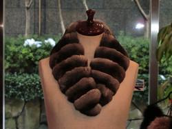 ハヤカワ毛皮  マフラー1