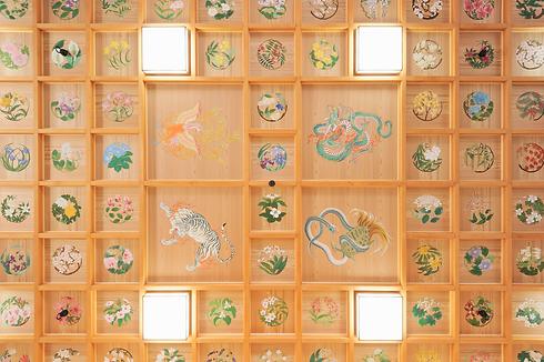 樽前山神社御本宮(天井)