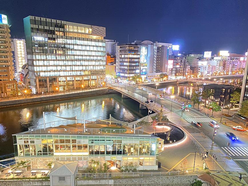 福岡・中州の夜景