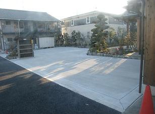緑区庭整備工事 (2)