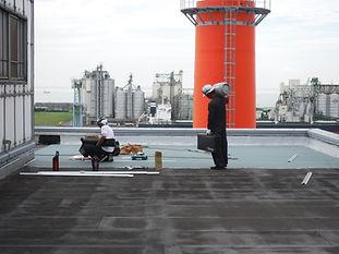 アスファルト防水トーチ工法