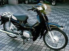 スーパーカブ110(ブラック)